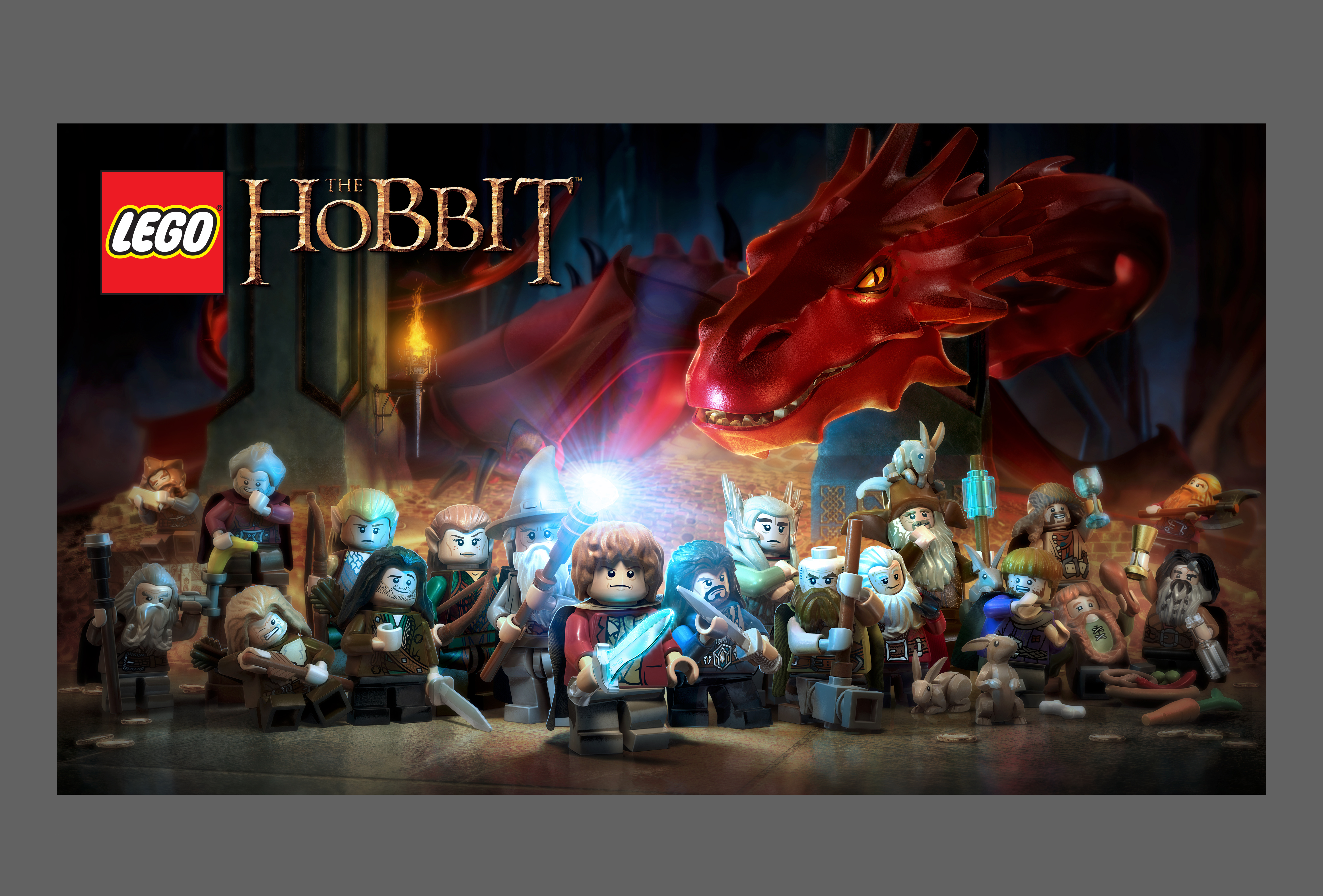 New Lego Games For Ps3 : Playstation news u lego the hobbit under lock and key at game