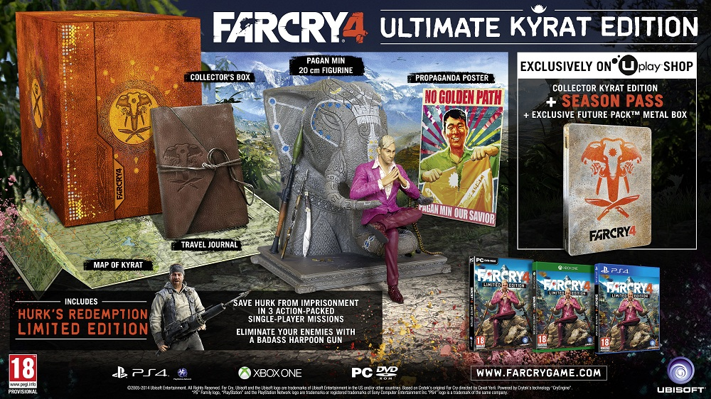 Playstation 4 News New E3 Reaction Trailer For Far Cry 4 Nothing Is True