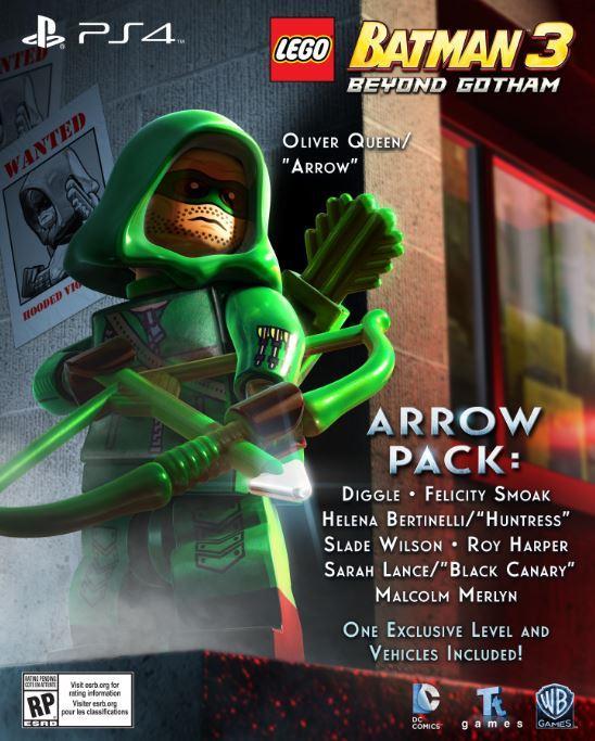 Playstation 4 News: NYCC LEGO Batman 3 Panel Reveals 'Arrow' DLC