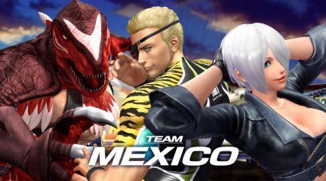 KoF XIV Team Mexico