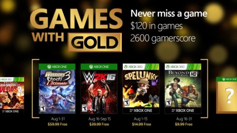 Xbox GwG Aug