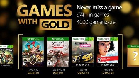 Xbox GwG Sep