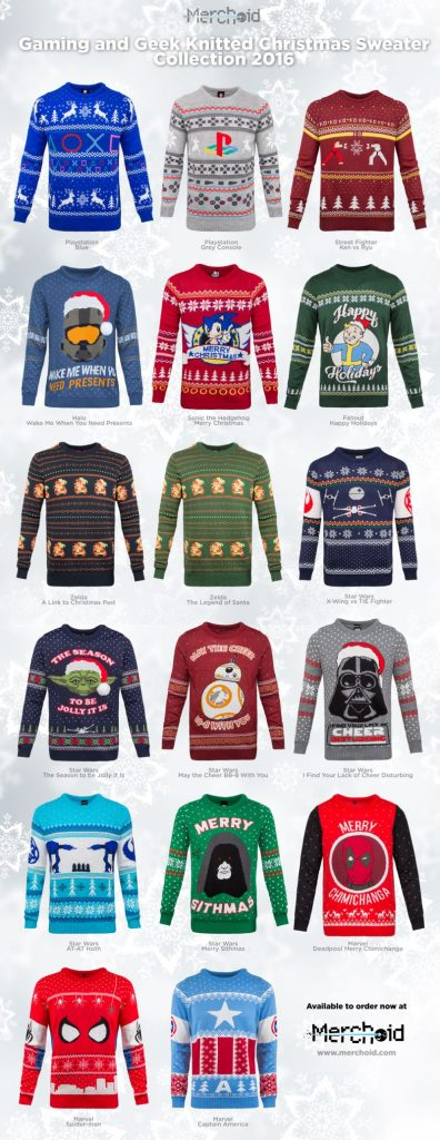 Halo Christmas Sweater.Christmas 2016 Nothing Is True